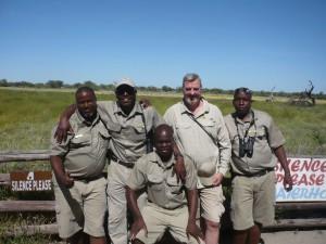 Onguma guides in Etosha